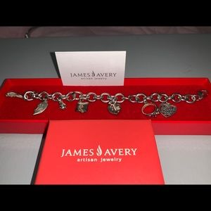 Jewelry - James Avery silver bracelet, comes with 7 charms